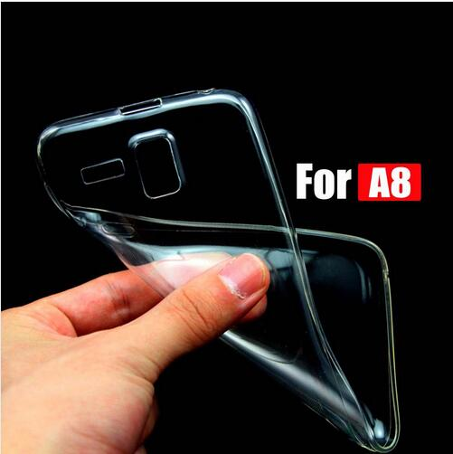 For Lenovo S8 S898T A808t A806 A8 Flexible Slim Crystal Clear Transparent Soft TPU Protector Back Case Cover Coque Fundas