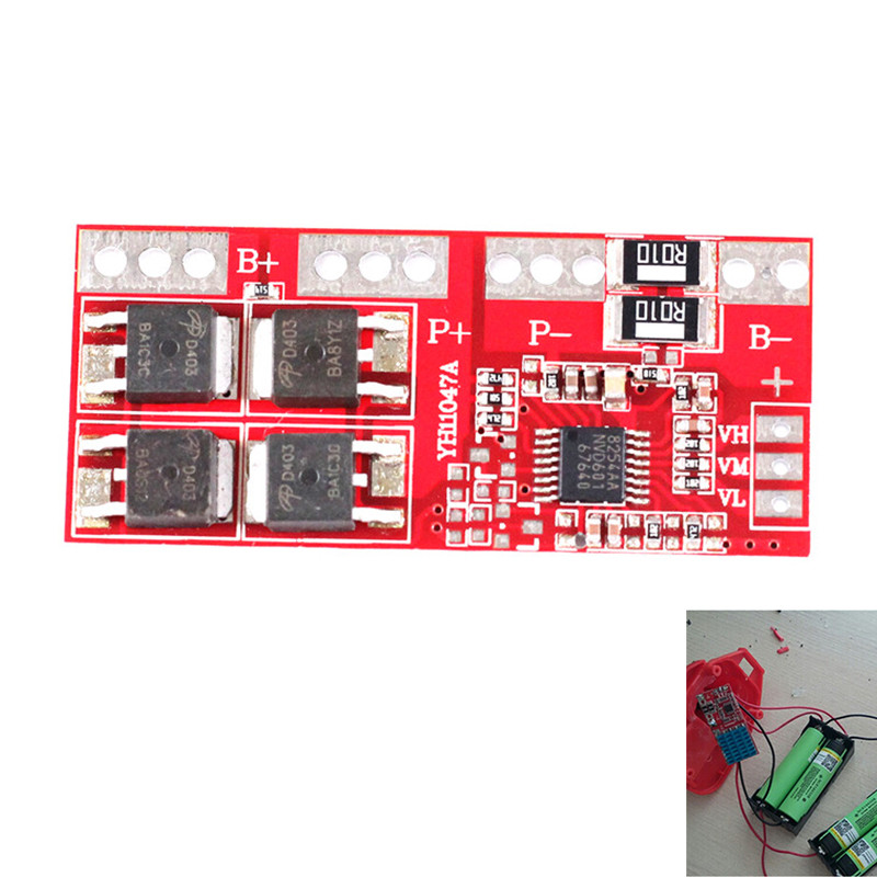 4S 30A High Current Li-ion Lithium Battery 18650 Charger Protection Board Module 14.4V 14.8V 16.8V Overcharge Module for Arduino