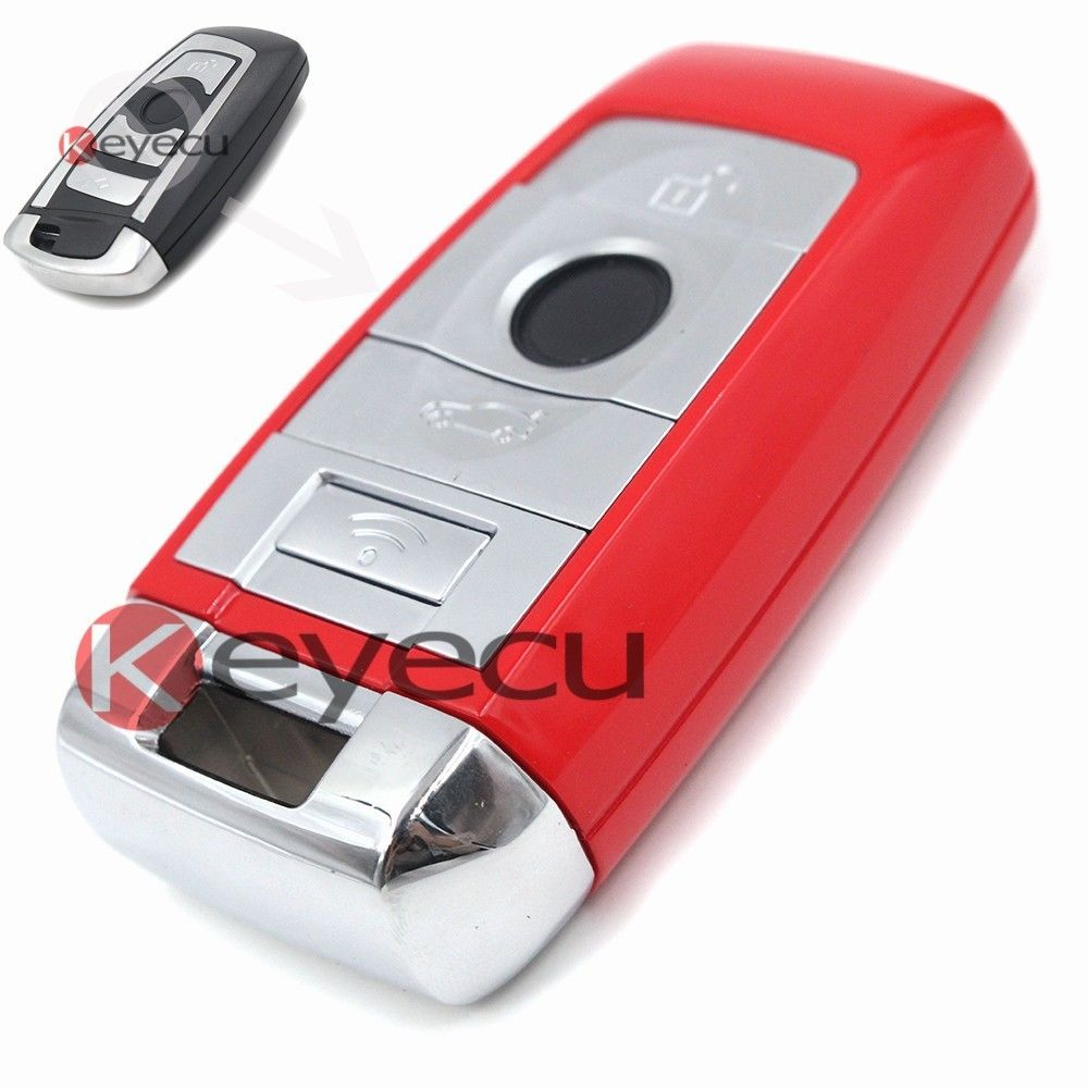 New Sexy Red  Full Remote Car Key Fob 4B 315MHz PCF7953 for BMW CAS4 F Platform 7 Series With BMW Logo cas plug for vvdi 2 for bmw or full version add making key for bmw ews vvdi2 cas plug