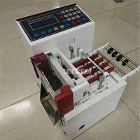 XS-100 # máquina de corte inteligente automática ac220 50/60 hz 360 w 0.1-9999.9mm da máquina de corte do microcomputador da máquina de corte da tubulação