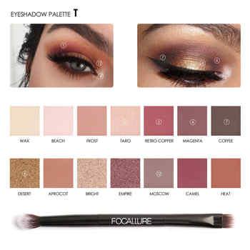 Focallure Eye Makeup Eye Shadow Shimmer Matte Palette Make Up Light High Quality Glitter Eyeshadow Pallete