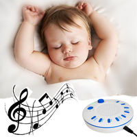 Bebek Uyku Emzik Ses Makinesi Beyaz Gürültü Ses Spa Doğa Gece Yatıştırıcı Ses Ev Ofis Seyahat