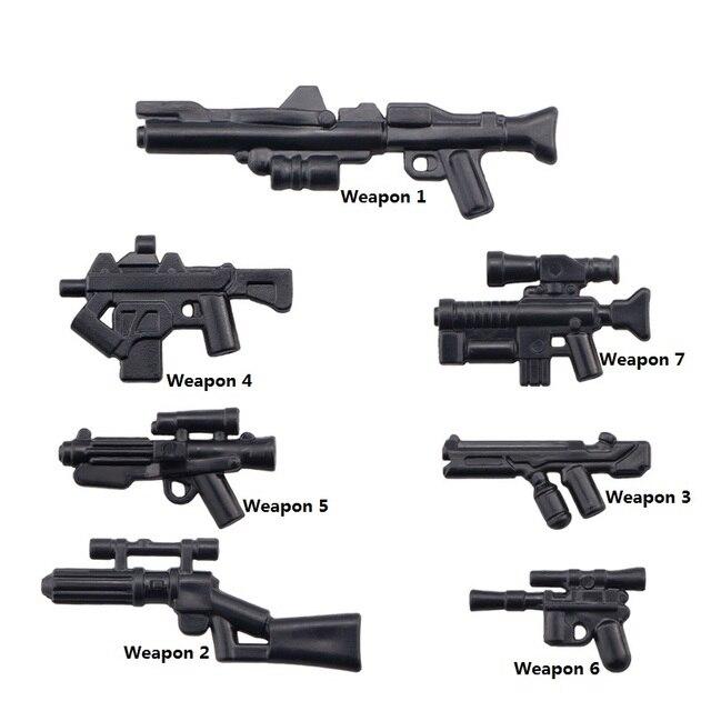 DIY Series Stormtrooper Blaster Gun Weapons Pack E 11 DL