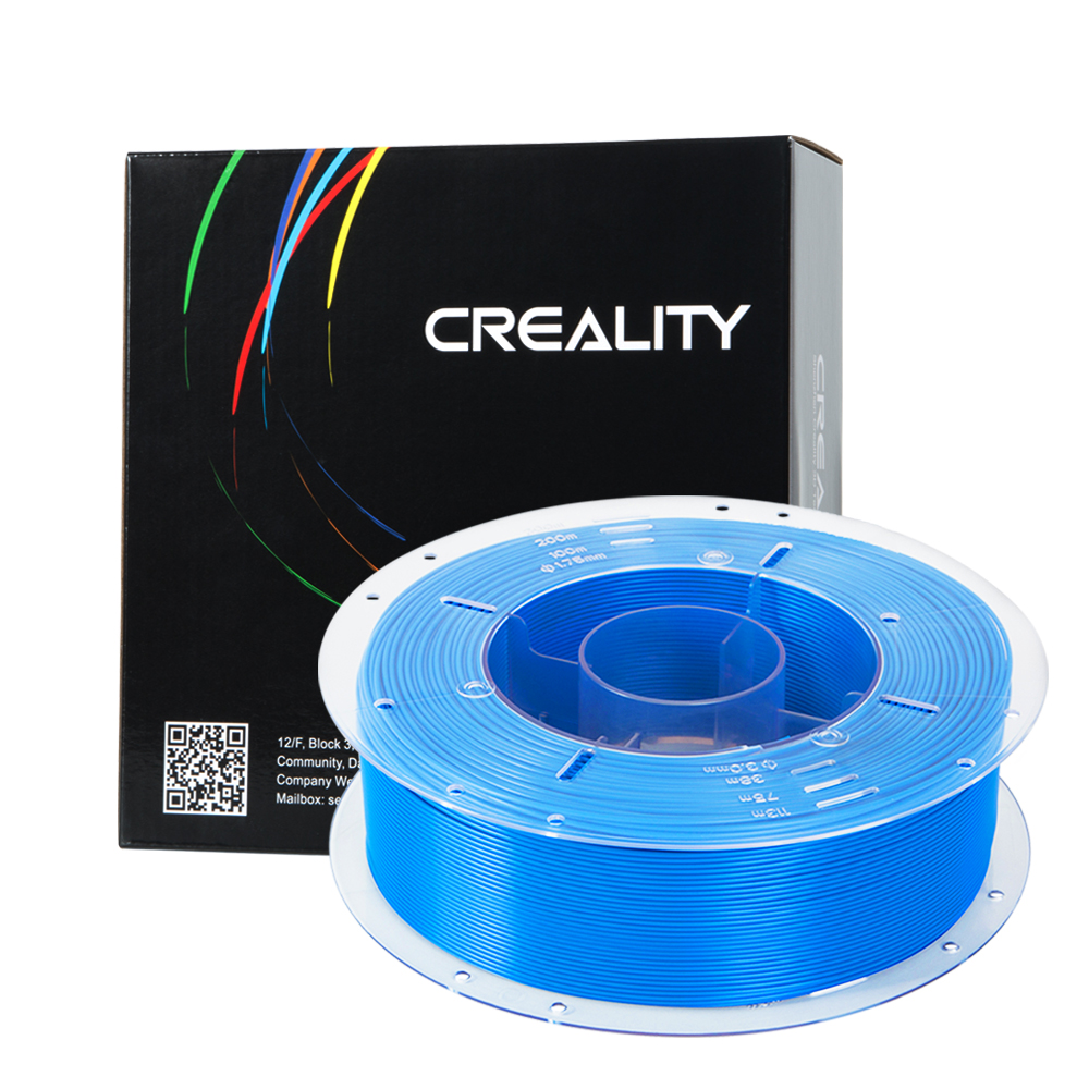 Material do filamento 1 kg/rolo 1.75mm do pla da impressora 1.75mm de creality 3d para a impressora 3d da série Ender-3/CR-10/10 s/s4/s5 da creality