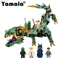 Yamala 592pcs Movie Series Flying Mecha Dragon Building Blocks Bricks Toys Model Gifts Compatible With