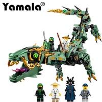 Yamala 592pcs Movie Series Flying Mecha Dragon Building Blocks Bricks Toys Model Gifts Compatible With