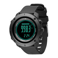 Fitness Smart Wristband Digital Watch Men Swimming Army Military Watches Compass Smart Watch Altimeter Barometer Waterproof 50m