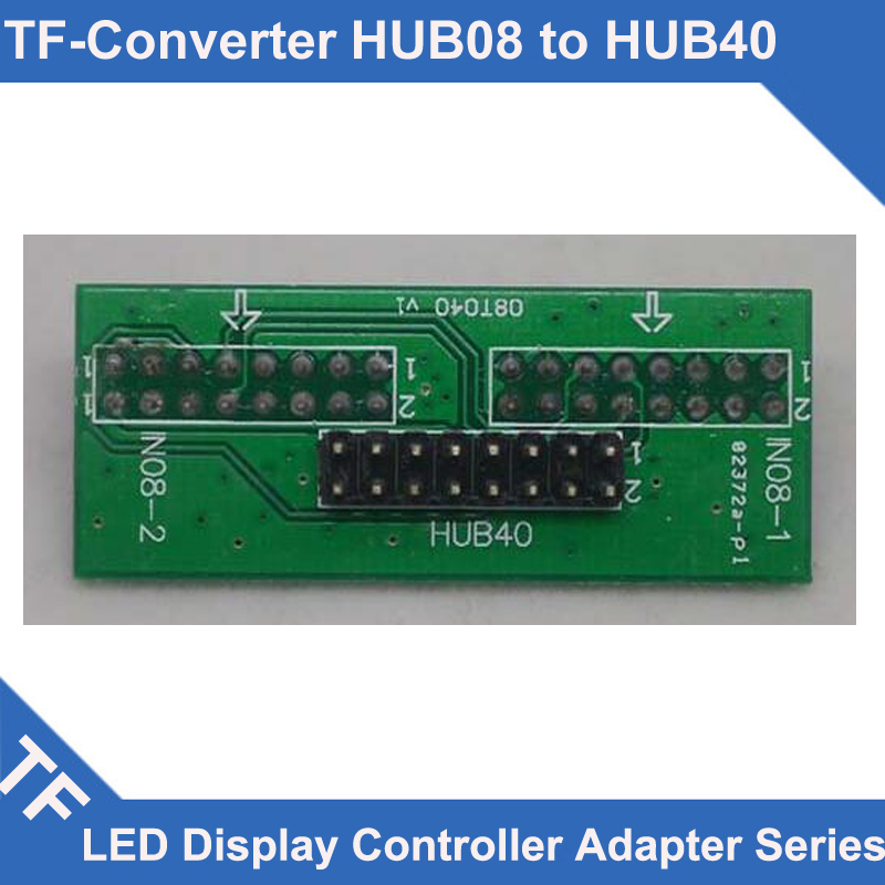 Longgreat TF Series HUB40 LED Controller HUB Board Adapter HUB08 Convert Into HUB40
