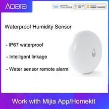 Оригинальный водонепроницаемый датчик влажности Aqara IP67, Умный домашний датчик воды, дистанционное управление через приложение с сигнализацией