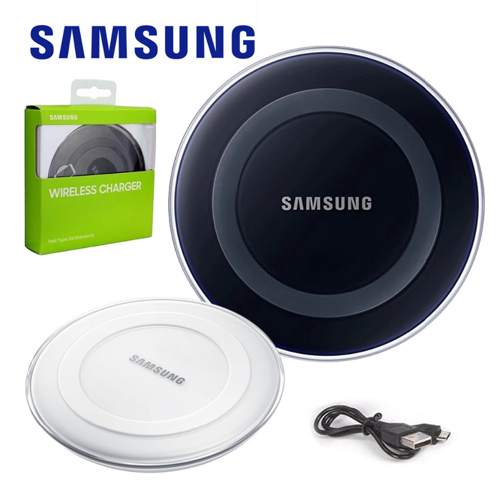 Samsung Wireless Charger QI EP PG920I S6 Charging Pad Original For Samsung Galaxy S6 S7