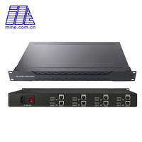 8 Channel MPEG 4 HEVC H.265 / H.264 HDMI to HTTP RTMP RTSP UDP ONVIF Streaming Audio Video Encoder