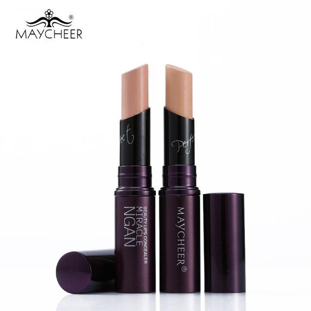 Face Eye Lip Concealer Stick Primer Base Contour Makeup Hide Blemish Dark Circle Concealer Foundation Cream