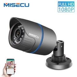 MISECU 2.8 milímetros de Largura Câmera IP 1080P 720P Exterior ONVIF RTSP E-mail de Alerta de Detecção de Movimento P2P XMEye 48V de Segurança De Vigilância POE