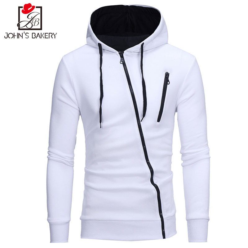 New Hoodies Men 2017 Brand Male Long Sleeve Hoodie Side Oblique Pull Sweatshirt Mens Moletom Masculino