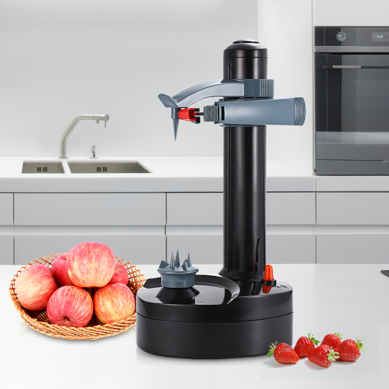 Creati Multifunction Stainless Steel Electric Peeler Automatic Fruit Vegetables Peeler Two Spare Blades Potato Peeling Machine ρολογια τοιχου κλασικα ξυλου