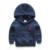 Novas Crianças Hoodies Das Camisolas Dos Meninos Casaco de Algodão Com Capuz Casacos Primavera Outono Casual Crianças Meninos Outerwear para 2-6Years