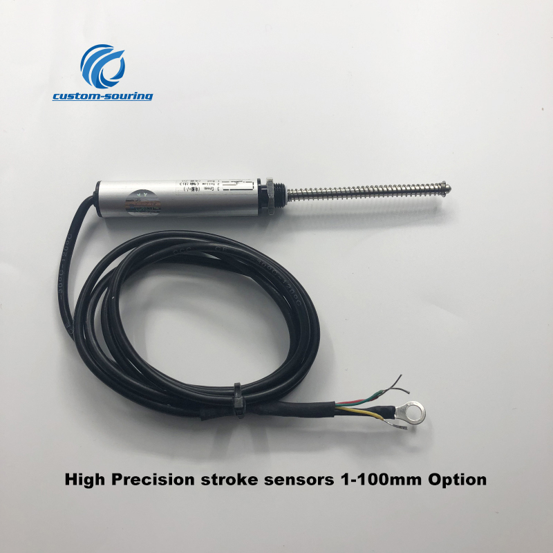 Free ship 1pc High Precision  stroke sensors small Micro small diameter 11mm displace sensor Electronic scale 1M Motion Sensor