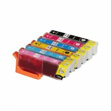 Full Ink 6 PCS Ink Cartridge T2421 T2422 T2423 T2424 T2425 T2426 FOR Epson XP750 XP850 XP950 with chip(China)