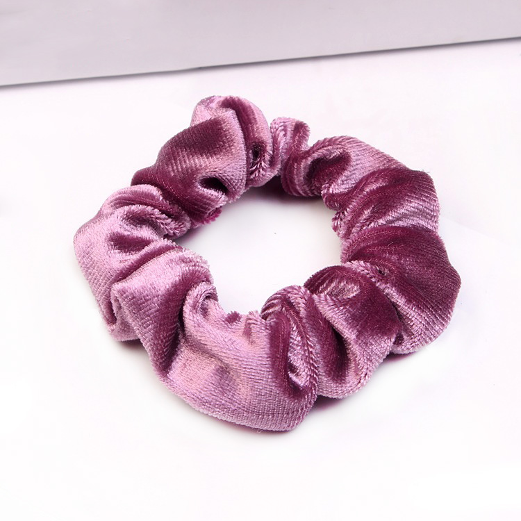 Nice Hair Accessories Velvet Scrunchies for Women Elastic Bands Scrunchie Soft Hairband