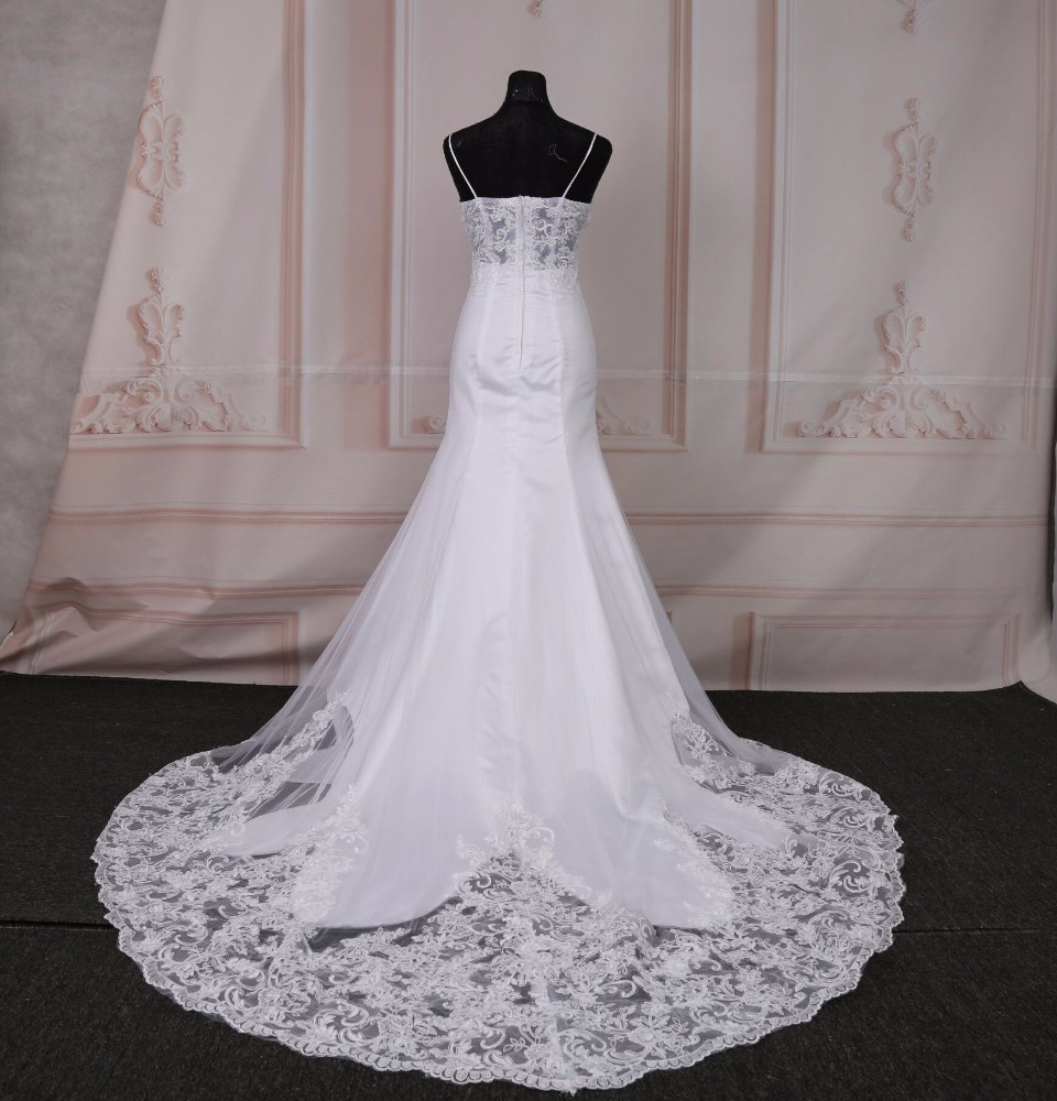 2018 Hot Sale Cheap Mermaid Wedding Dresses Regular Sleeveless ...