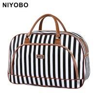 Women Travel Bags 2016 Fashion Pu Leather Large Capacity Waterproof Print Luggage Duffle Bag Casual Sport