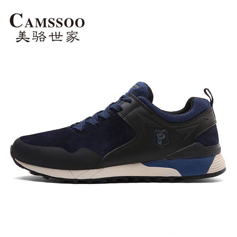 CAMSSOO Mens Sports Outdoor Running Shoes Sneakers For Men Sport Comfortable Trekking Jogging Running Shoes Sneaker Man Run lis 37007 new model building kits blocks toys princess anna and prince of the castle for children gift compatible lepin 41068