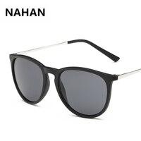 Designer Sunglass Women 2017 High Quality UV400 Glasses Outdoor Sunglasse Copper Plastic Frame NAHAN Brand Sun