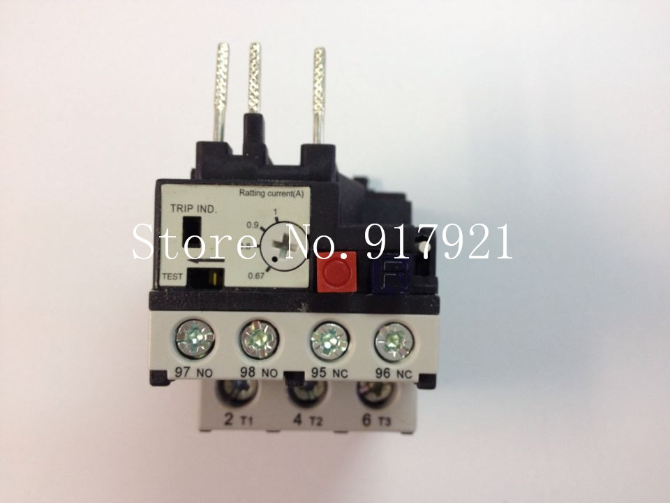 [ZOB] Hagrid EWT010B thermal overload relay 0.67-1A three-phase overload protection  --5pcs/lot 3 pole ac 0 63a 1a electric thermal overload relay 1 no 1 nc