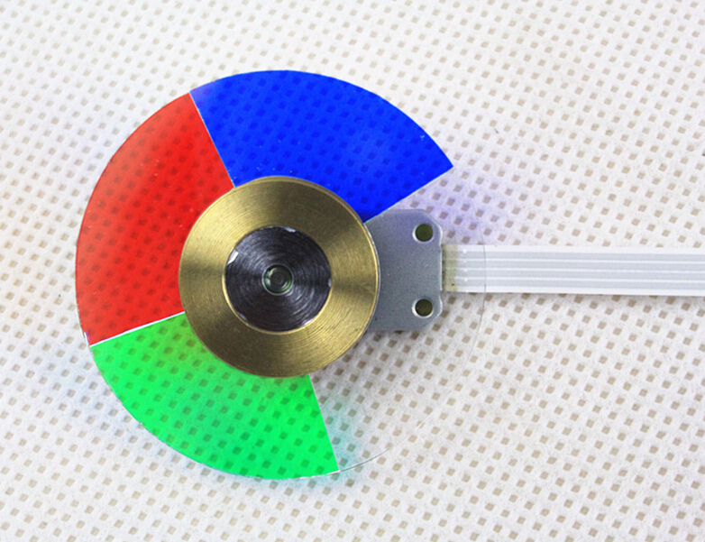 100% NEW Original Projector Color Wheel for OPTOMA EP739 Projector Color Wheel тарелка опорная bosch 2 608 601 053 page 5