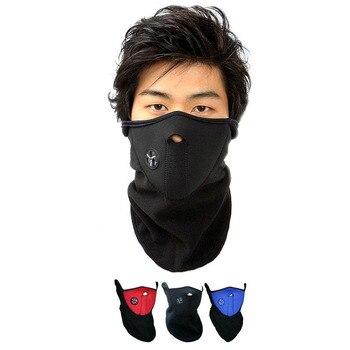 Pasamontañas de abrigo para Motocicleta, máscara facial, Ropa de ciclismo, Motocicleta, Motocicleta, Ski, Motocross