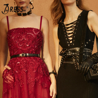 INDRESSME 2018 Black Hollow Out Sleeveless Celebrity Evening Gown Party Dress Sexy Women Summer Dress Vestidos Verano New