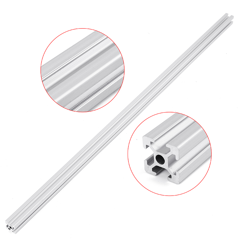 <font><b>2020</b></font> <font><b>1000mm</b></font> Length T-Slot Aluminum <font><b>Profiles</b></font> Extrusion Frame For CNC 3D Printer Plasma Lasers Stands Furniture image