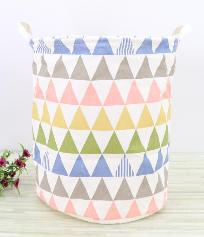 New multiple styles waterproof Laundry Hamper Clothes Storage Baskets Home decoration storage barrel kids toy organizer basket
