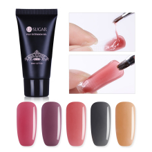UR Gula 30ml Poli Gel Perancis Nail Bangunan Pantas Crystal UV Builder Gel Tips Kuku Seni Jari Extension Bangunan Gel UV Kristal