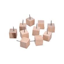 10 фото/упаковка деревянные японские декоративные чертежи пробковая доска булавки толкатель прикроватные столы thumtack гвозди