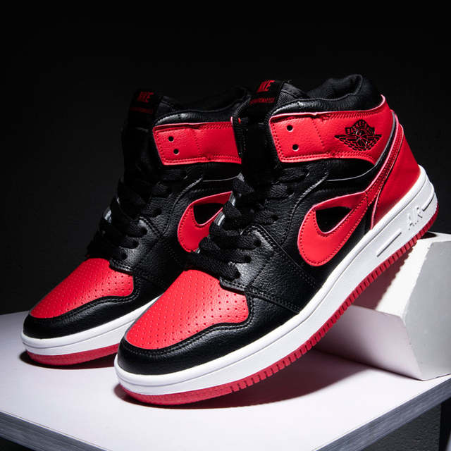 mieux aimé 03a13 3af87 US $20.27 29% OFF|FlyingCourier AJ1 Basket Shoe for Sneaker Lovers Jordan  Retro Shoes for Men and Women 36 45 Sport Basketball Athletic Air Walk-in  ...