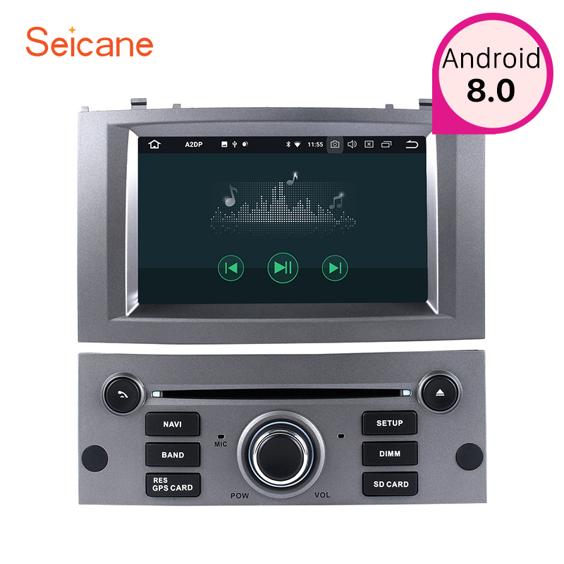 seicane 1din android 8 0 7 inch car radio gps navigation. Black Bedroom Furniture Sets. Home Design Ideas