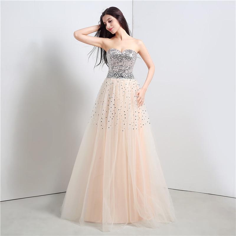 Großartig Nackte Farbe Prom Kleider Ideen - Brautkleider Ideen ...