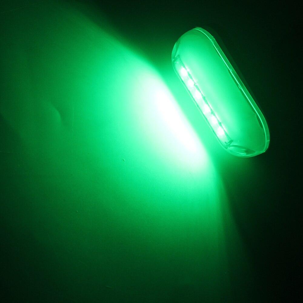 Image 5 - 1Pcs 6LED Underwater Fishing Light Marine Boat Night Yatch Navigation Light Underwater Landscape Lighting 12V Marine Accessory-in Marine Hardware from Automobiles & Motorcycles