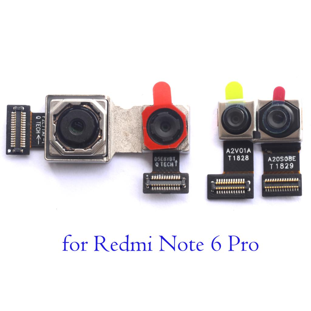 For Xiaomi Redmi Note 6 Pro New Original Back Front Camera Back Camera Facing Selife Rear Camera For Xiaomi Redmi Note6 Pro