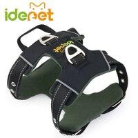 Sterke Hond Harnas voor Kleine tot Grote Honden Reflecterende Huisdier Harnas Vest Training accessoires Pitbulls chihuahua dierbenodigdheden 11c4