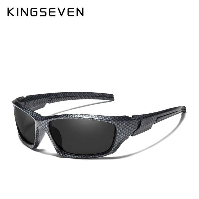 3fc8d8aedded ... KINGSEVEN Brand 2019 Limited Sales TR90 Polarized Sunglasses Men Carbon  fiber Frame Fishing Driving Eyewear Sun ...
