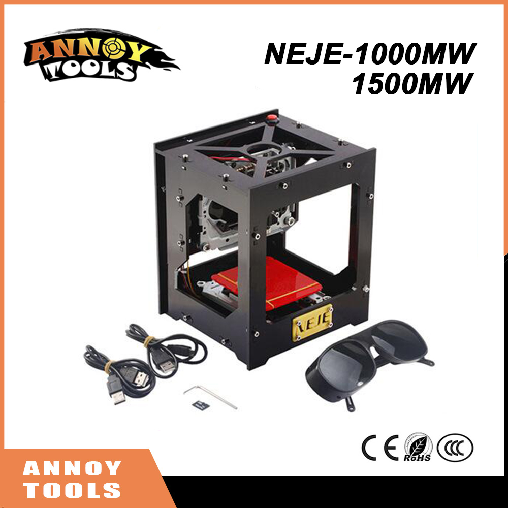 NEJE 1000mW cnc crouter cnc laser cutter mini cnc engraving machine DIY Print laser engraver High Speed with Protective Glasses neje 1000mw dropshipping for vip customer