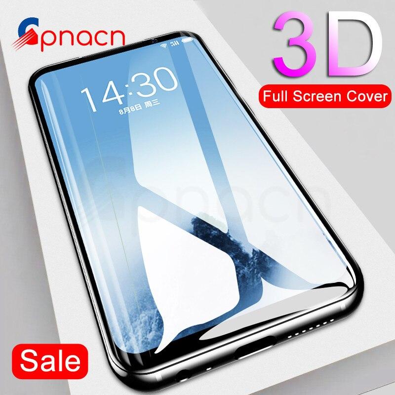 GPNACN 3D מזג זכוכית עבור Meizu M5 M6 הערה M5S M6S פרו 7 מסך מגן סרט עבור Meizu 15 16 ה בתוספת לייט M15 זכוכית מקרה
