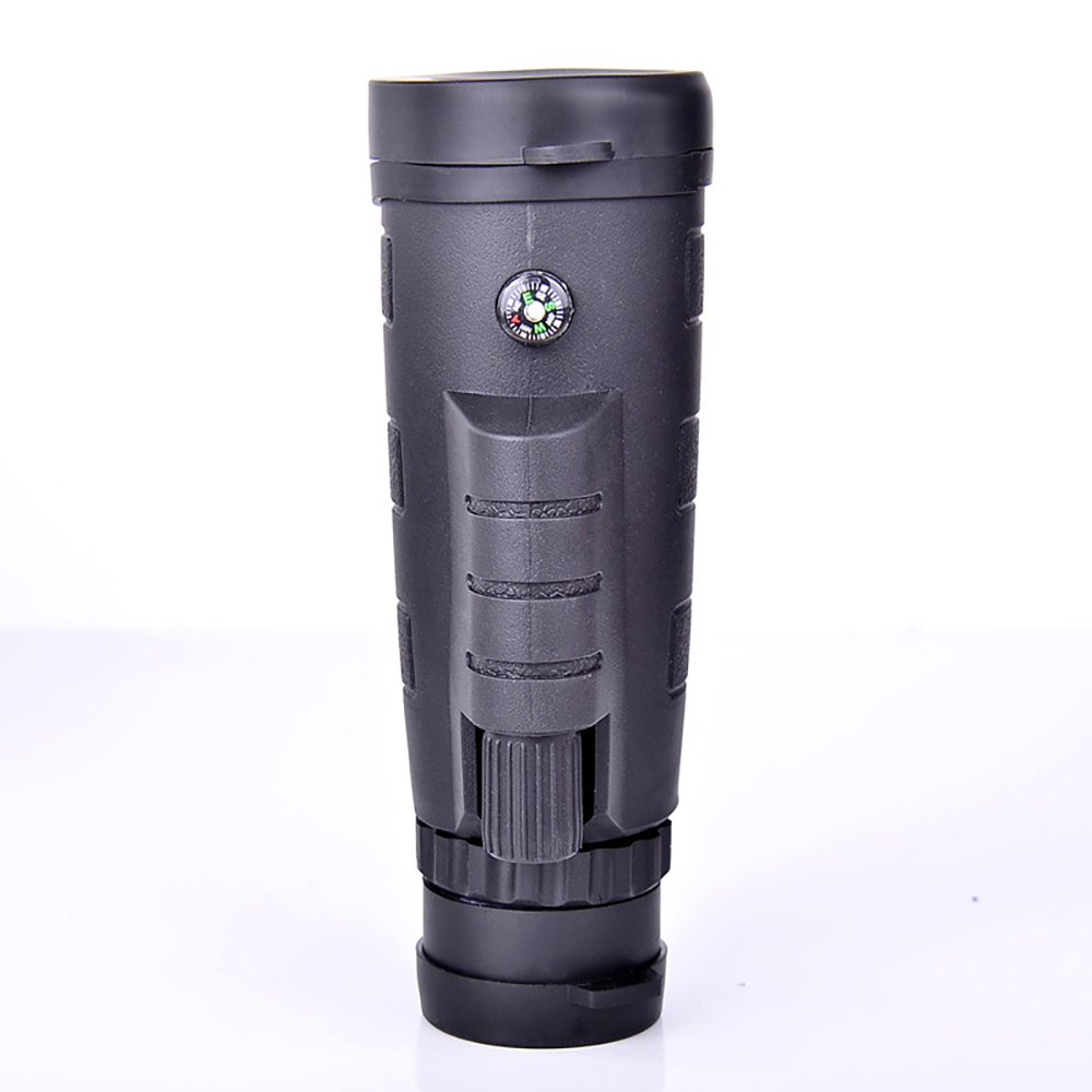 Outdoor 40*60 Telescope Monocular Clarity HD Vision Low Level Night Vision Green Film Optics Telescope with Mobile phone stand
