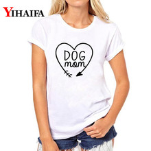 Women T-shirt Funny Mom Letters Tee 3D Print T Shirt Harajuku White T-shirts Couple Cartoons Summer Casual Tops
