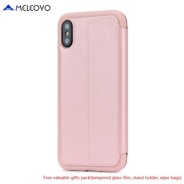 custodia folio iphone 8 plus oro rosa