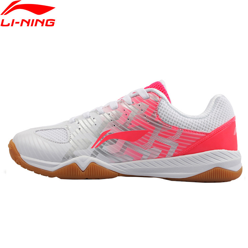 Li Ning 2018 Women EVOLUTION Table Tennis Shoes National Team Model Breathable Li Ning Sports Shoes Wearable Sneakers APPM004