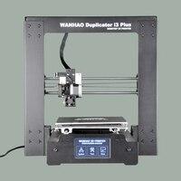 Новинка 2017 версия Лидер продаж wanhao i3 плюс 3D принтер, психического рамки, affordble 3D принтер с нитей и ЖК дисплей