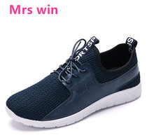 2017 New Arrival Hot Style Men Running Shoes Lace Up Breathable Comfortable Sneakers Outdoor Walking Footwear Men Free Shipping